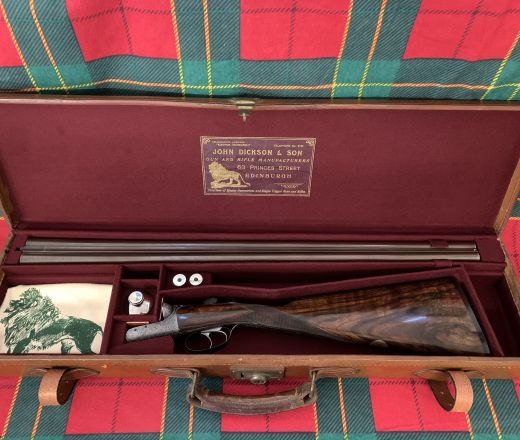 SOLD - Rare John Dickson and Son Round-Action made in 1905