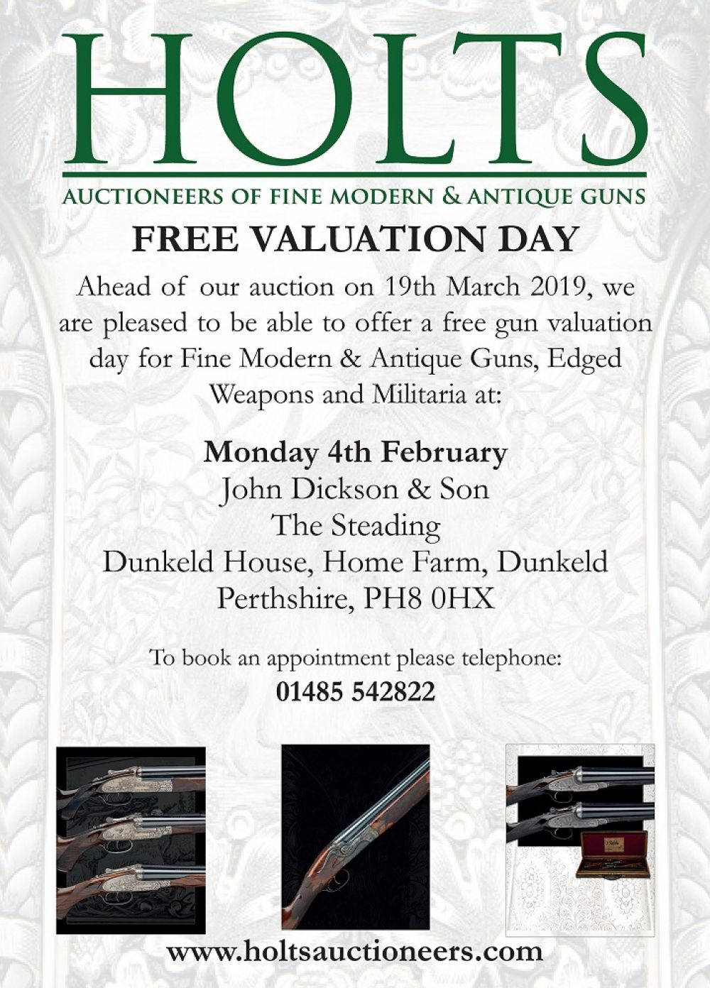 Holts valuation day 4th February 2019