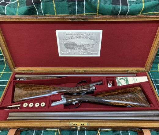 New Inventory - Magnificent Pair of John Dickson and Son Round-Actions made in 1896/8