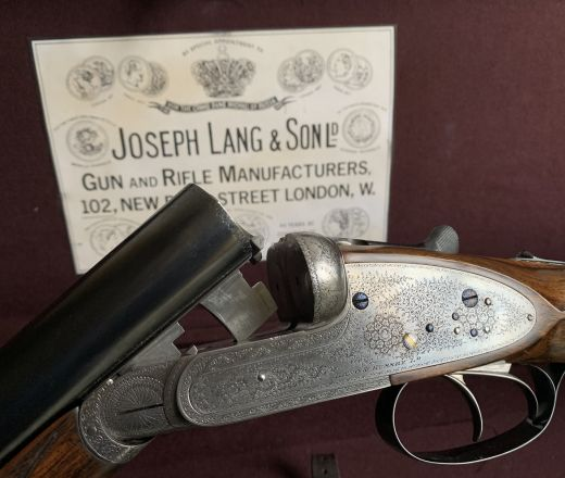 SOLD - Lang and Hussey made in 1896