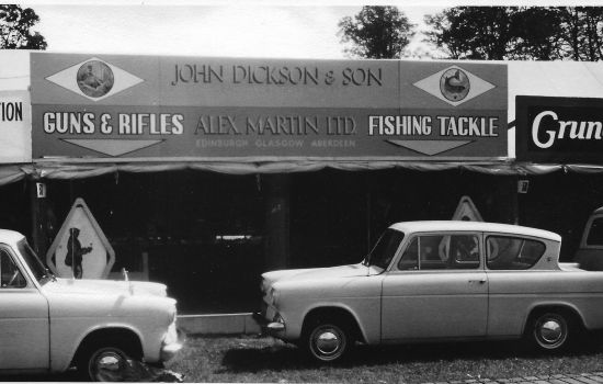John Dickson and Son at the The Game Fair 2021