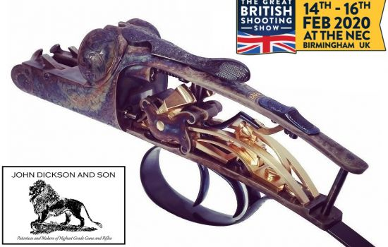 John Dickson and Son at The Great British Shooting Show 2020
