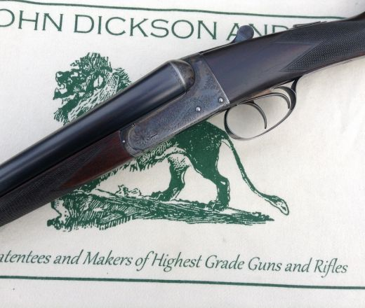 SOLD - John Dickson and Son Boxlock made in 1935
