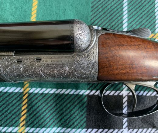 SOLD - Beautiful Kell Engraved John Dickson and Son Round-Action made in 1922