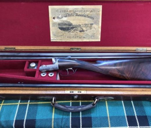 SOLD - John Dickson and Son Round-Action made in 1924
