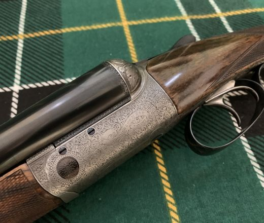 SOLD - John Dickson and Son Round-Action made in 1896