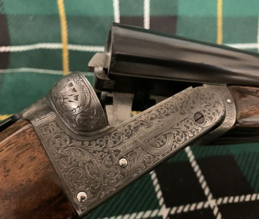 SOLD - Beautiful Kell Engraved John Dickson and Son Boxlock made in 1921
