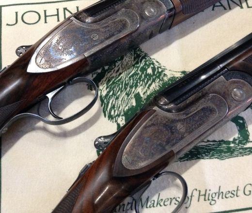 Pair of Rizzini game guns