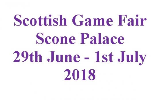 Scottish Game Fair 2018