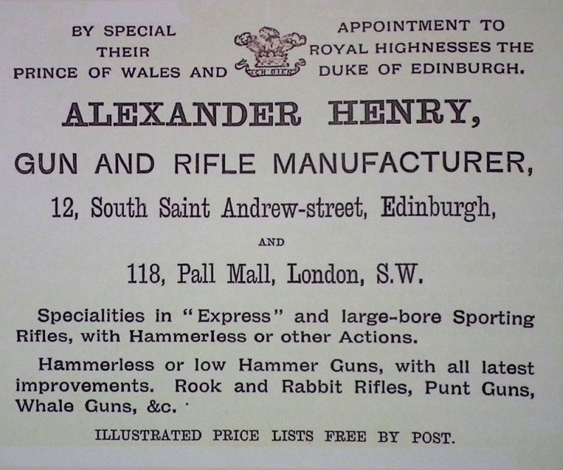 alex henry advert