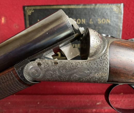 SOLD - John Dickson and Son Round-Action made in 1906