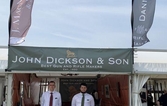 John Dickson and Son at The Game Fair 2021